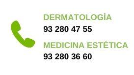 telefono dermatologo barcelona